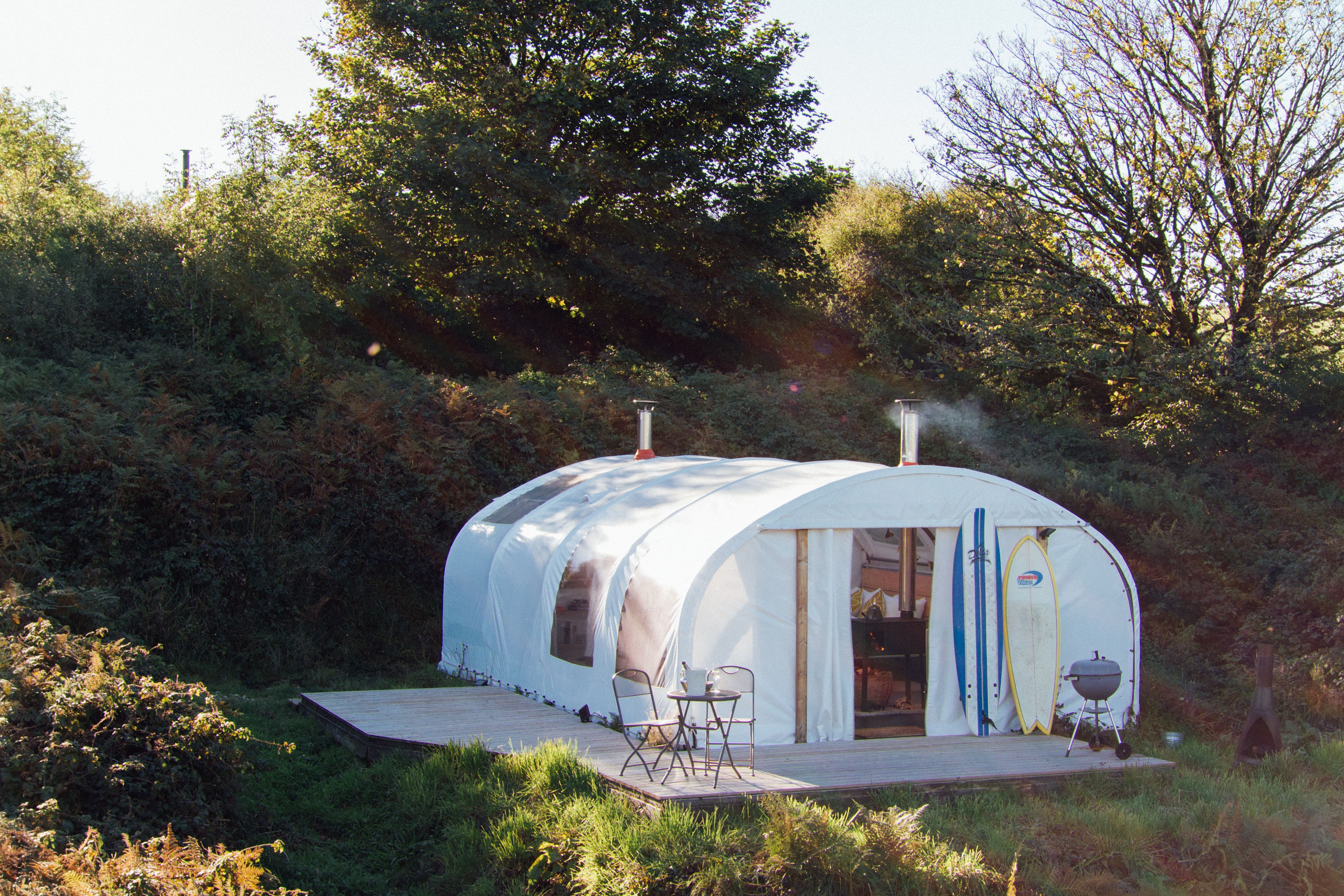 Steren Glamping Pod Glamping In Cornwall With Ekopod