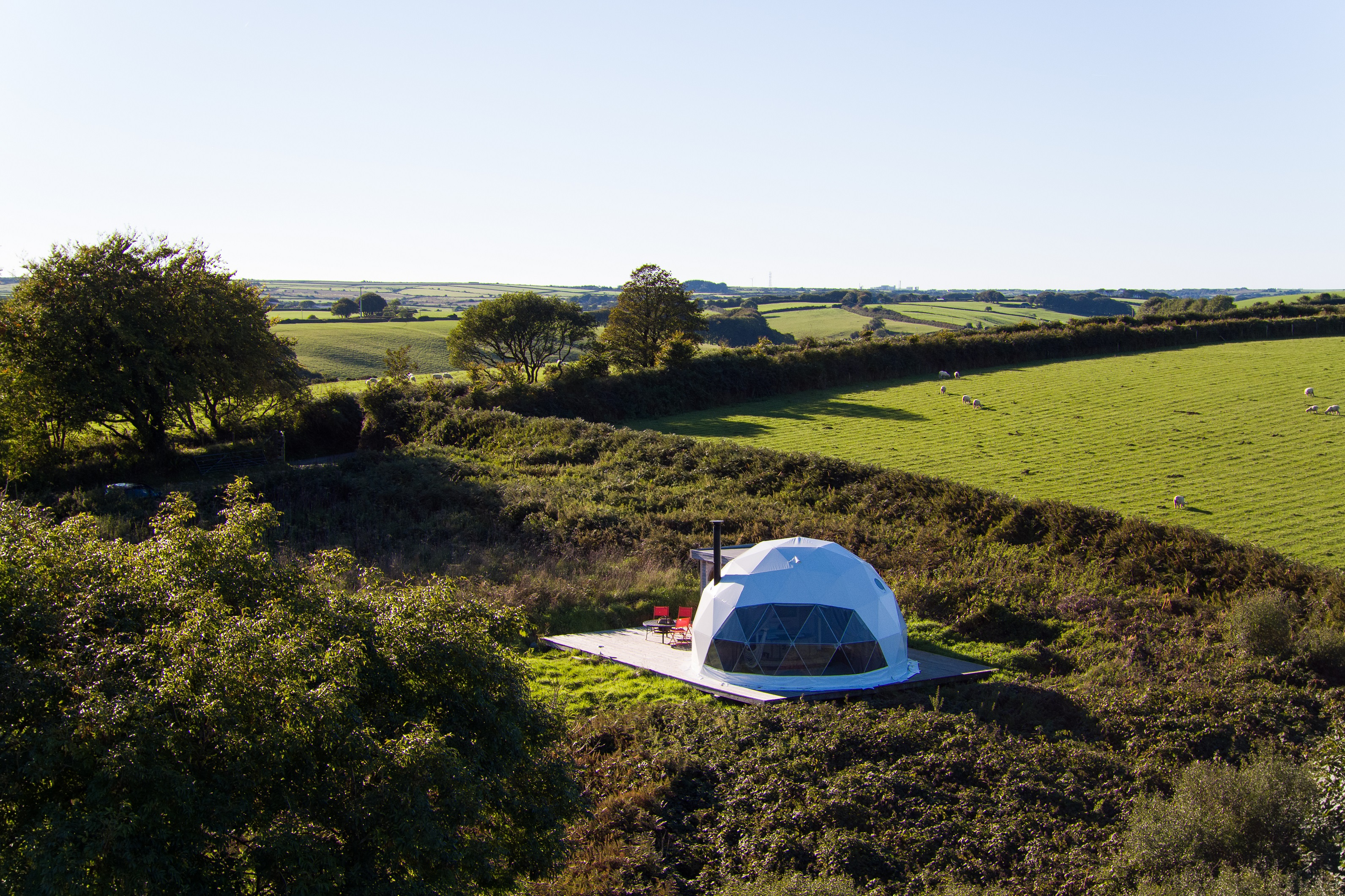 Glamping Cornwall With Ekopod Camping Pods